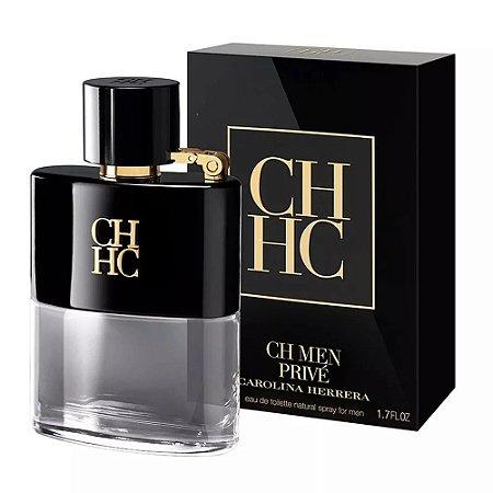 CH Men Privé Carolina Herrera Eau de Toilette 50ml - Perfume Masculino