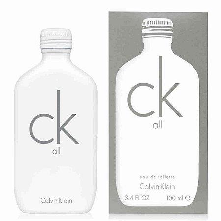 CK All Eau de Toilette Calvin Klein 100ml - Perfume Unissex