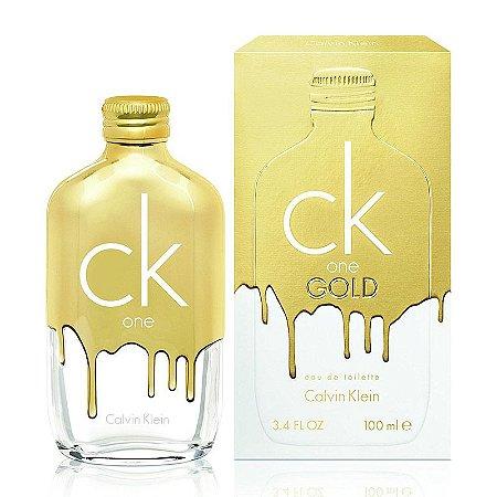 CK One Gold Calvin Klein Eau De Toilette 100ml - Perfume Unissex