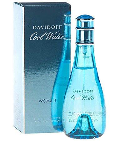 Cool Water Woman Eau de Toilette Davidoff 100ml - Perfume Feminino