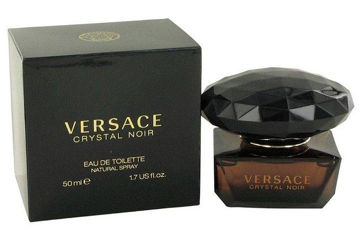 Crystal Noir Eau de Toilette Versace 50ml - Perfume Feminino