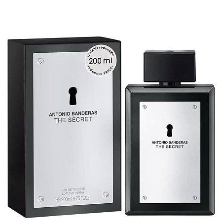 The Secret Eau de Toilette Antonio Banderas 200ml - Perfume Masculino
