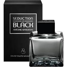 Seduction In Black Eau De Toilette - Antonio Banderas 50ml - Perfume Masculino