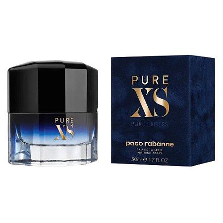 Pure XS Eau de Toilette  Paco Rabanne 50ml - Perfume Masculino