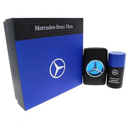 04aa01ac0d Kit Mercedes-Benz Man Eau de Toilette 100ml + Desodorante Stick 75g -  Masculino