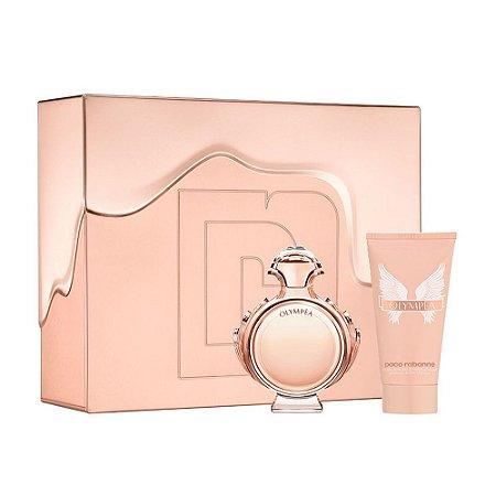 Kit Olympêa Paco Rabanne  Eau de Parfum 50ML + Body Lotion 75ML - Feminino