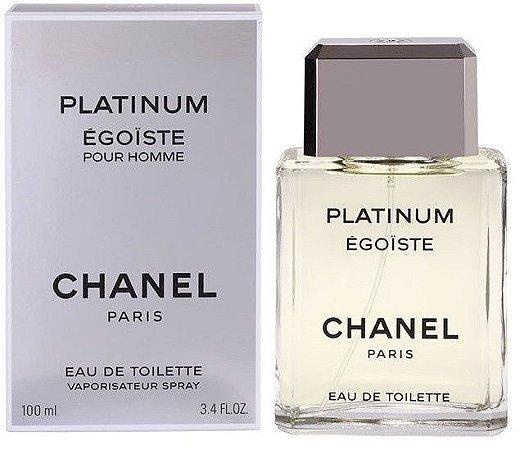 Platinum Égoïste Eau de Toilette Chanel 100ml - Perfume Masculino