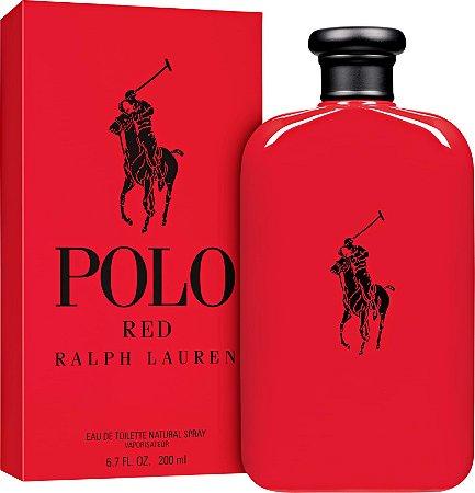 Polo Red Eau de Toilette Ralph Lauren 200ml - Perfume Masculino