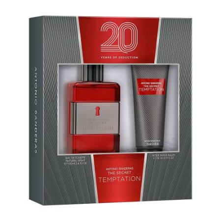 Kit The Secret Temptation Antonio Banderas Eau de Toilette 100ml + Pós-Barba 75ml - Masculino