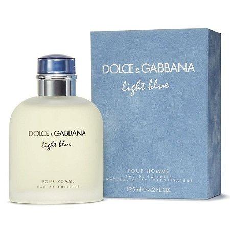 Dolce   Gabbana Light Blue Pour Homme Eau de Toilette 125ml - Perfume  Masculino 5ef0116c7c