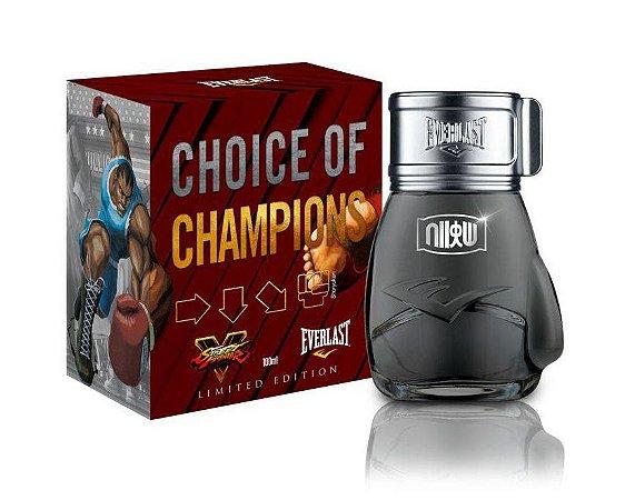 Choice Of Champions Street Fighter Shoryuken Everlast Deo Colônia 100ml - Perfume Masculino