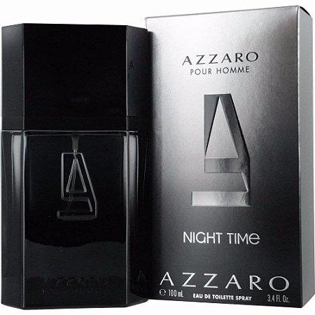Azzaro Pour Homme Night Time Eau de Toilette 100ml - Perfume Masculino