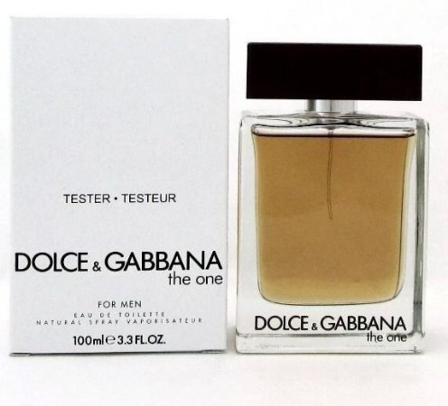 Tester The One Dolce & Gabbana Eau de Toilette 100ml - Perfume Masculino