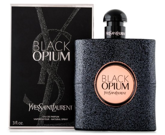 Laurent 90ml Perfume Black Feminino Yves Eau Parfum De Opium Saint mOvn0wN8