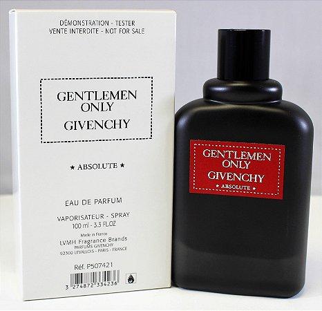 Tester Gentlemen Only Absolute Givenchy Eau de Parfum 100ml - Perfume Masculino