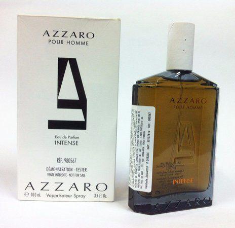 Tester Azzaro Pour Homme Intense Eau de Parfum 100ml - Perfume Masculino