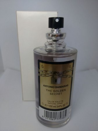 d0dd3ca5a3 Tester The Golden Secret Antonio Banderas EDT 100ml - Perfume Masculino