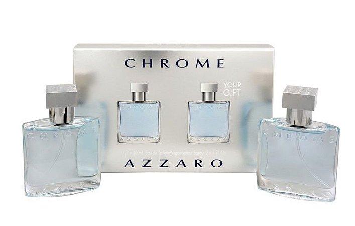 ebcca54c77 Kit Azzaro Chrome Eau de Toilette 2 x 30ml - Perfume Masculino ...