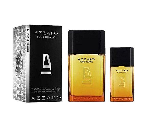 Kit Azzaro Pour Homme By Azzaro Eau de Toilette 100ml + Miniatura 30ml