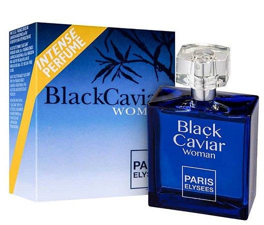 Black Caviar Woman Eau de Toilette Paris Elysees 100ml - Perfume Feminino