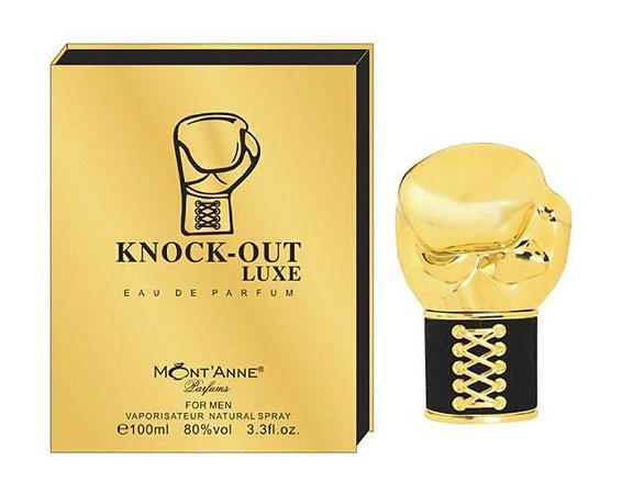 Knock-Out Luxe For Men Eau de Parfum Mont'Anne 100ml - Perfume Masculino