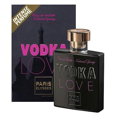Vodka Love Paris Elysees Eau de Toilette 100ml - Perfume Feminino