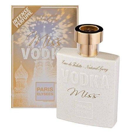 Miss Vodka Eau de Toilette Paris Elysees 100ml - Perfume Feminino