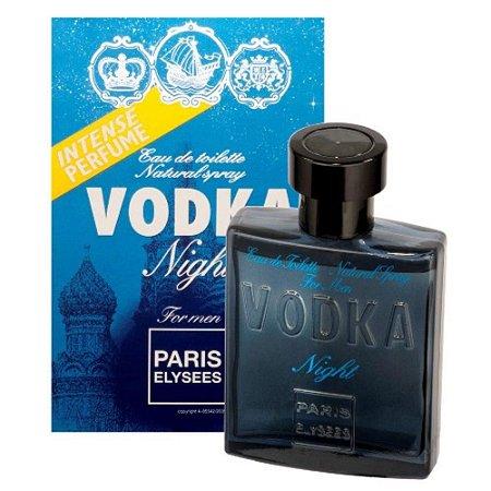 Vodka Night Paris Elysees Eau de Toilette 100ml - Perfume Masculino