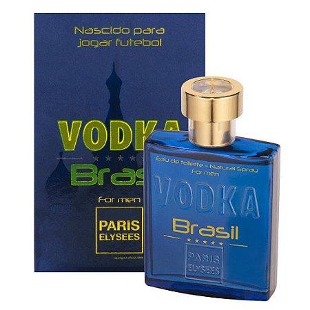 Vodka Brasil Blue Eau de Toilette Paris Elysees 100ml - Perfume Masculino