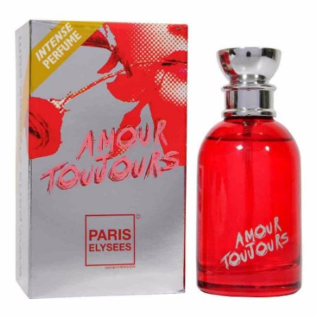 Amour Toujours Eau de Toilette Paris Elysees 100ml - Perfume Feminino