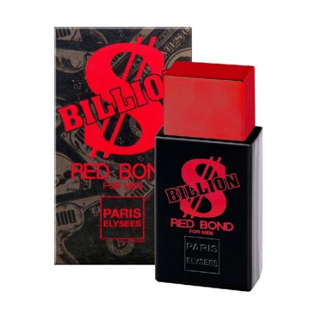 Billion Red Bond Paris Elysees Eau de Toilette 100ml - Perfume Masculino