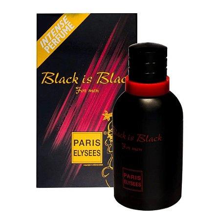 Black Is Black Paris Elysees Eau de Toilette 100ml - Perfume Masculino