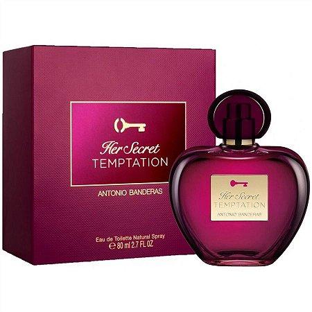Her Secret Temptation Eau de Toilette Antonio Banderas 50ml - Perfume Feminino