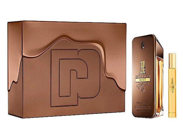 Kit 1 Million Privé Paco Rabanne Eau de Parfum 100ml + Miniatura 10ml - Masculino