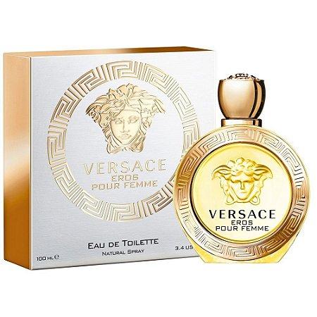 Versace Eros Pour Femme Eau de Toilette 30ml - Perfume Feminino