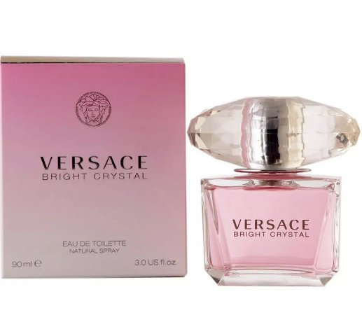 Bright Crystal Versace Eau de Toilette 30ml - Perfume Feminino