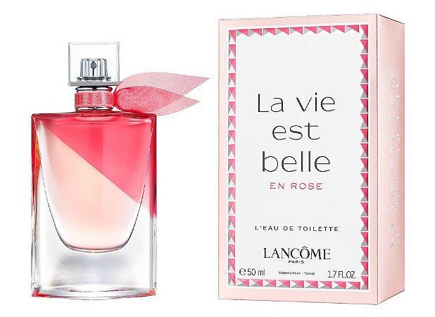 La Vie Est Belle En Rose Lancôme Eau de Toilette 100ml - Perfume Feminino