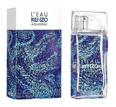 L'eau Kenzo Aquadisiac Pour Homme Kenzo Eau de Toilette 50ml - Perfume Masculino
