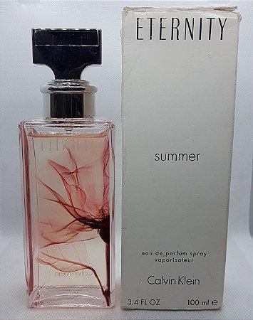 Tester Eternity Summer Eau De Parfum Calvin Klein 100ml - Perfume Feminino