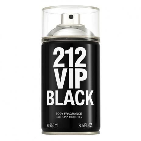 Body Spray 212 VIP Black Carolina Herrera 250ml - Masculino