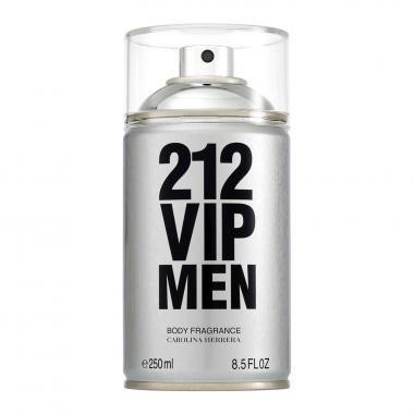Body Spray 212 VIP Men Carolina Herrera 250ml - Masculino