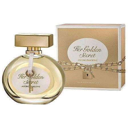 Her Golden Secret Eau de Toilette Antonio Banderas 80ml - Perfume Feminino