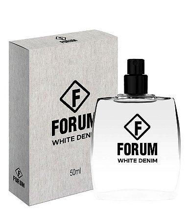 Deo Colônia White Denim Forum 50ml - Perfume Unissex