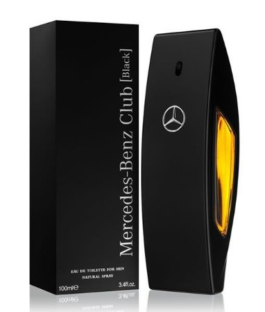 Mercedes-Benz Club Black Eau de Toilette 100ml - Perfume Masculino