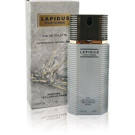 Lapidus Pour Homme Eau de Toilette Ted Lapidus 100ml - Perfume Masculino