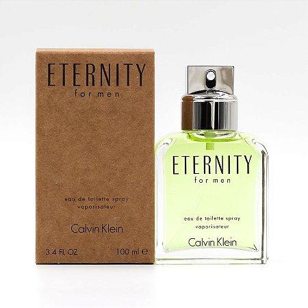 Tester Eternity For Men Calvin Klein Eau de Toilette 100ml - Perfume Masculino
