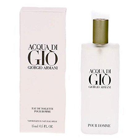 Acqua Di Gio Homme Eau de Toilette Giorgio Armani 15ml - Perfume Masculino