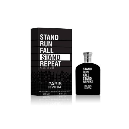 Stand Run Fall Stand Repeat Eau de Toilette Paris Riviera 100ml - Perfume Masculino
