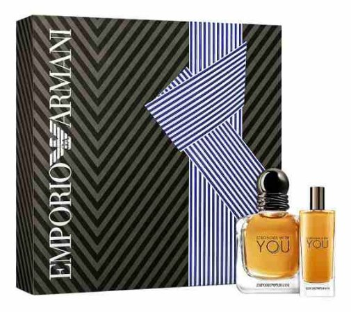 Kit Stronger With You Emporio Armani Eau de Toilette 50ml + 15ml - Masculino