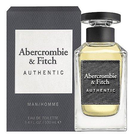 Authentic Eau de Toilette Abercrombie & Fitch 100ml - Perfume Masculino